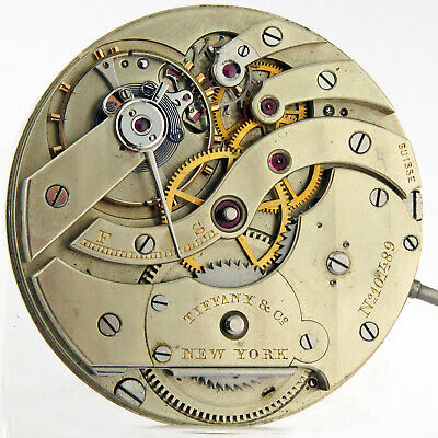 Patek Philippe 20j Hunter Case HC Wolf Teeth Pocket Watch Movement 41.5mm