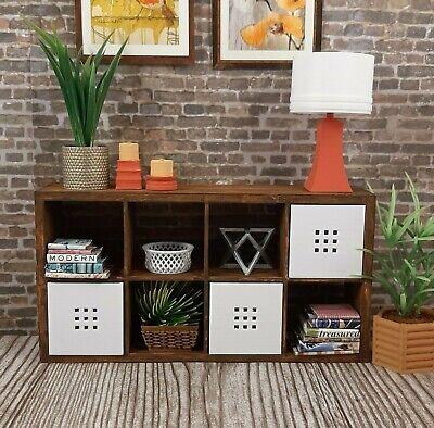 for BARBIE IKEA new KALLAX 2x4 shelf FURNITURE accessory HOUSE diorama 1/6