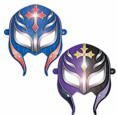 WWE 2014 Party Supplies Paper Masks party favors 8ct. - Wwe Party Favors