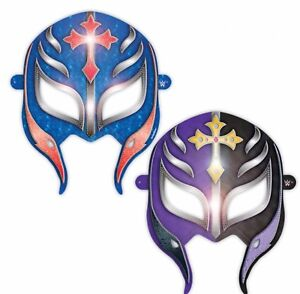 WWE 2014 Party Supplies Paper Masks Favors 8ct