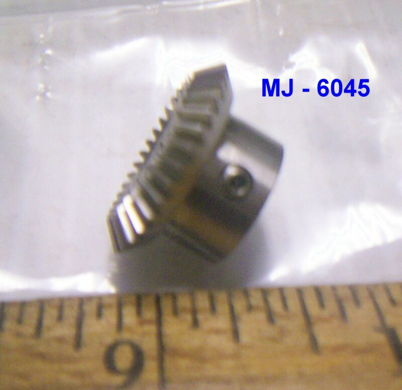 Small Stainless Steel Bevel Gear with Set Screw - P/N: 3018801-1 (NOS)