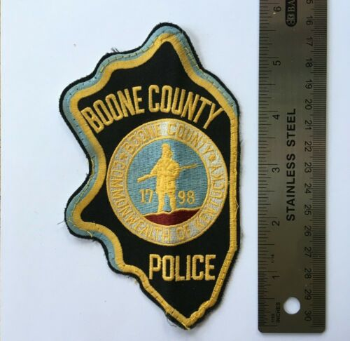 BOONE COUNTY POLICE PATCH KENTUCKY VINTAGE COMMONWEALTH PD OFFICER