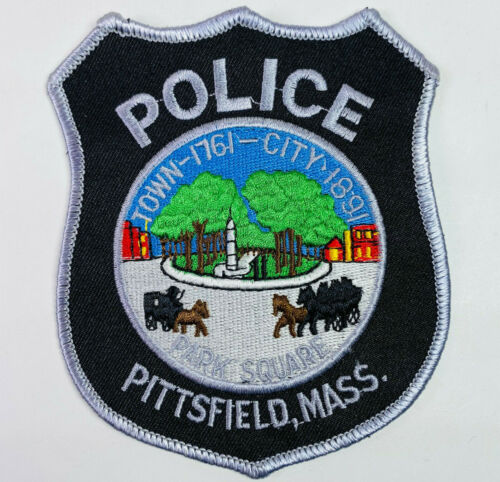 Pittsfield Police Berkshire County Massachusetts MA Patch A7A