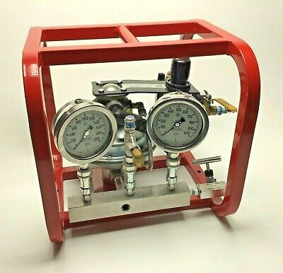 New Barbee P206-0-3 Air Driven Portable Hydrostatic Test Pump 6000 Psi 601 Rice