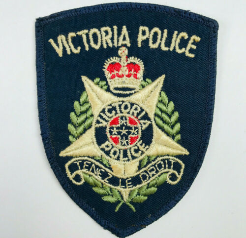 Victoria Police Australia Patch (C)