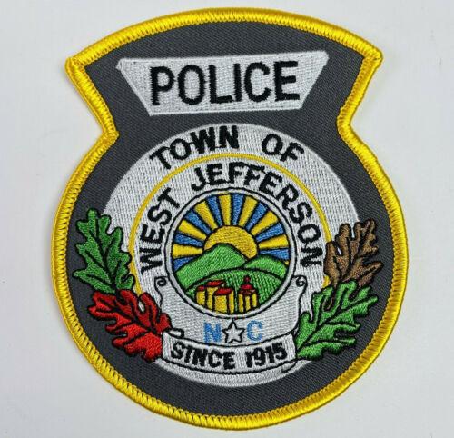 West Jefferson Police Ashe County North Carolina NC Patch A3