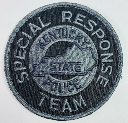 """Kentucky State Police Special Response Team SWAT Subdued Hook And Loop Patch 4"""""""