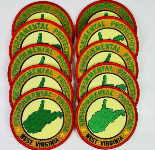 10 West Virginia Department Of Environmental Protection WV EPA Patches Lot
