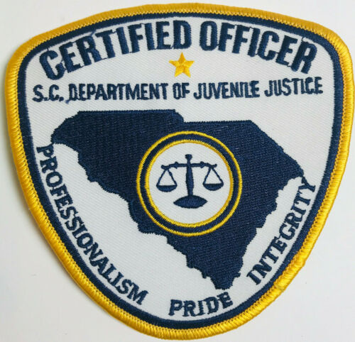 South Carolina Department Of Juvenile Justice Certified Officer Patch