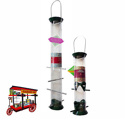 DROLL YANKEES 'THE NEW GENERATION' SET OF 2 FOREST GREEN FEEDERS Droll Yankee 23' Green