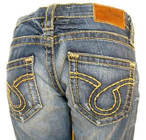 Hottest-Trendy-Womens-Big-Star-Jeans-Vintage-Stylish-LIV-Boot-Cut-BEACH
