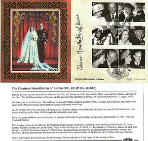 2007-ROYAL-DIAMOND-WEDDING-SIGNED-COUNTESS-MOUNTBATTEN-BENHAM-FIRST-DAY-COVER