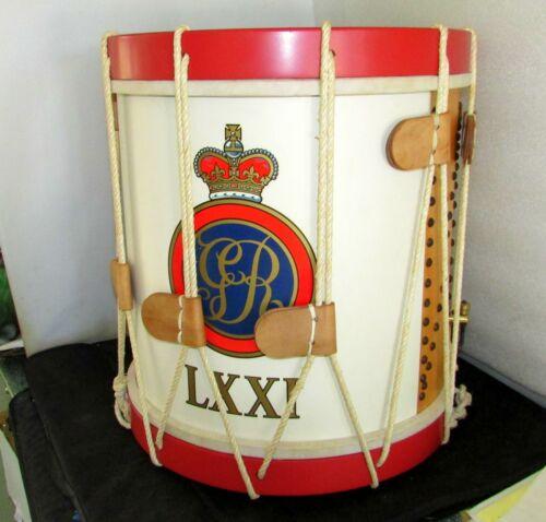 Revolutionary War Reenactment Snare Drum Frasers Highlanders Premier Drum Ltd Ed