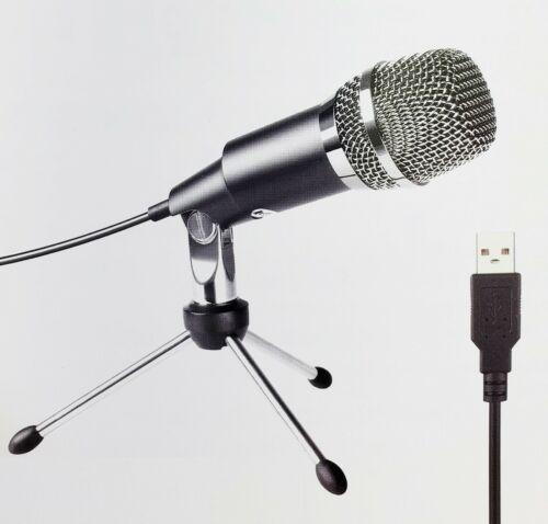 USB Microphone,Fifine Plug &Play Home Studio USB Condenser Microphone - K668