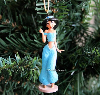 Custom Disney Aladdin Movie PRINCESS JASMINE Genie Outfit Christmas Ornament 15