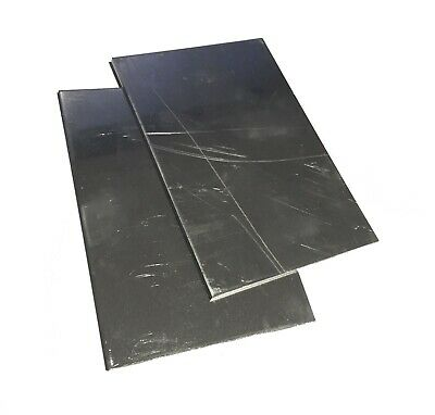 2pc .125 18 Aluminum Sheet Plates 5052 4 X 6