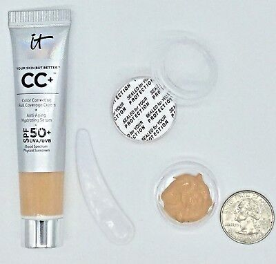 *SAMPLE* IT Cosmetics Your Skin But Better CC Cream SPF 50 LIGHT OR MEDIUM