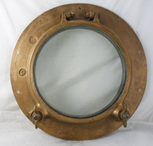 Antique bronze  porthole, Wilcox Crittenden WC #10 Porthole 1940