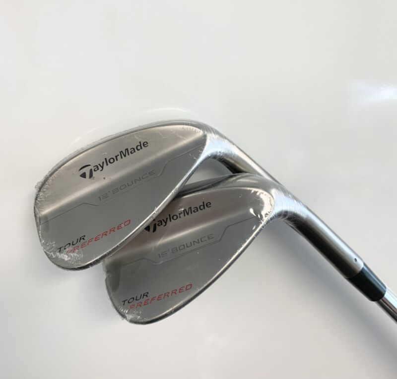 TaylorMade 2014 Tour Preferred 52* & 56* Wedges, Dynamic Gold S300, Lamkin Grip