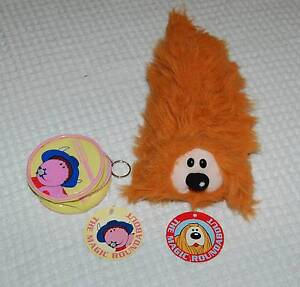 """NEW """"The Magic Roundabout"""" Pencil Case or Puppet, & Money Purse Hillarys Joondalup Area Preview"""
