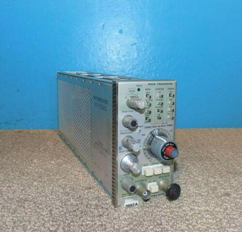 Tektronix 7B92A Dual Time Base Plug-In Free Shipping