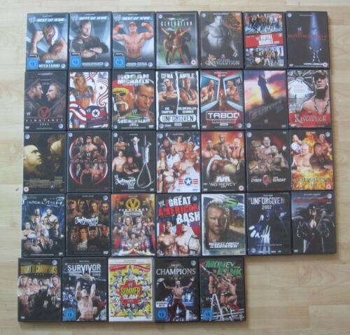 WWE - Wrestling - DVDs