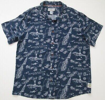 "Vintage Auth Margaritaville Hawaiian Shirt 53""-134.5cm XL (397H)"