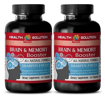 Energy&focus supplement-BRAIN & MEMORY BOOSTER- herbal supplement for focus (Herbal Energy Boosters)