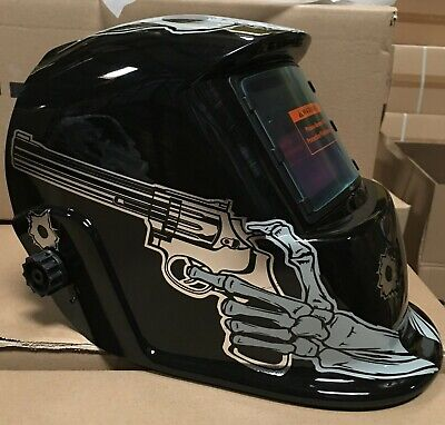 Psl Auto Darkening Weldinggrinding Helmet Hood1 Carrying Bag1 Clear Cover