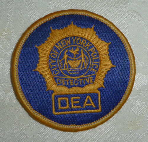 City of New York Detective Endowment Association Patch