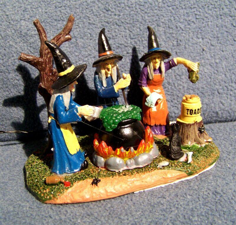 Lemax - Teamwork - Spooky Town - 04709 - Table Top Halloween Accent - NIB
