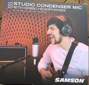 Studio Condenser Mic With SR850 Headphones Morningside Brisbane South East Preview