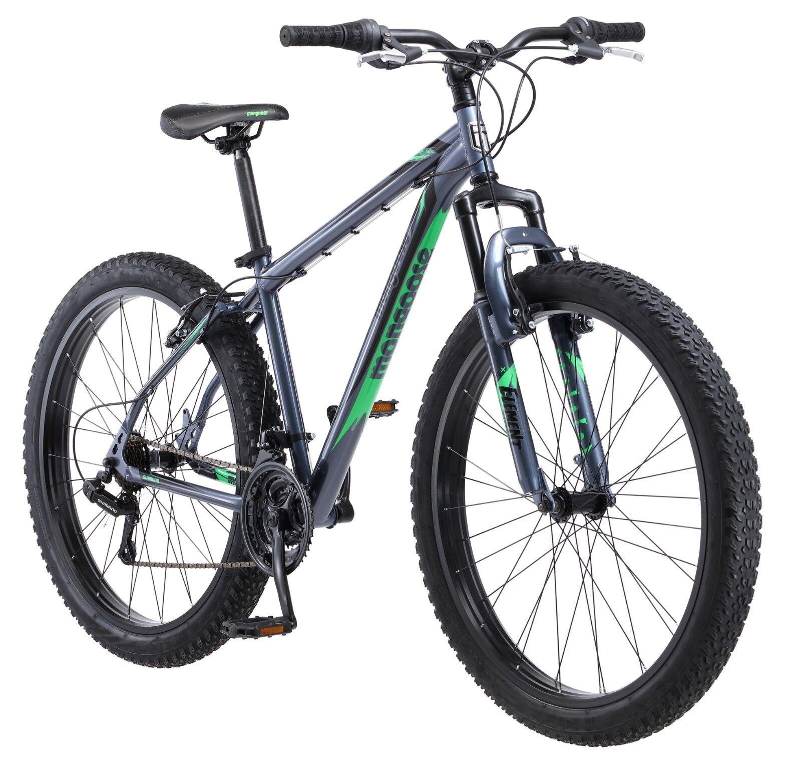 "Mongoose 27.5"" Men's Rader Bike in Grey R5904A"