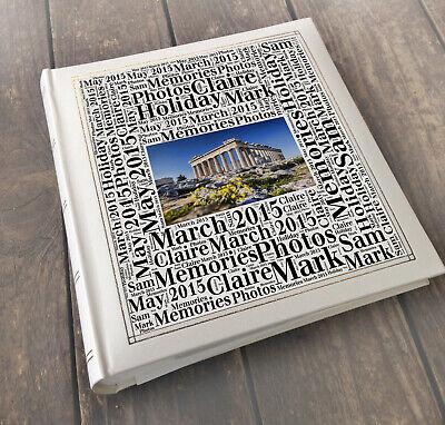 Personalized Wedding Albums (Personalised photo album Athens Greece, Holiday travel  wedding honeymoon)