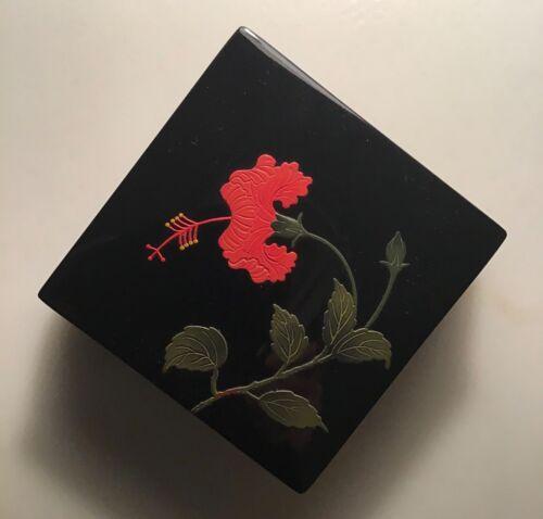 JAPANESE OKINAWA ENAMELED BOX