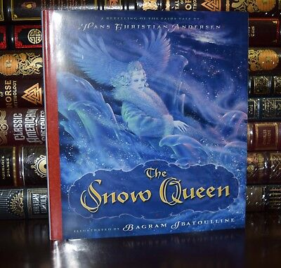 Snow Queen by Hans Andersen Fairy Tale Illustrated New Deluxe Hardcover Classic