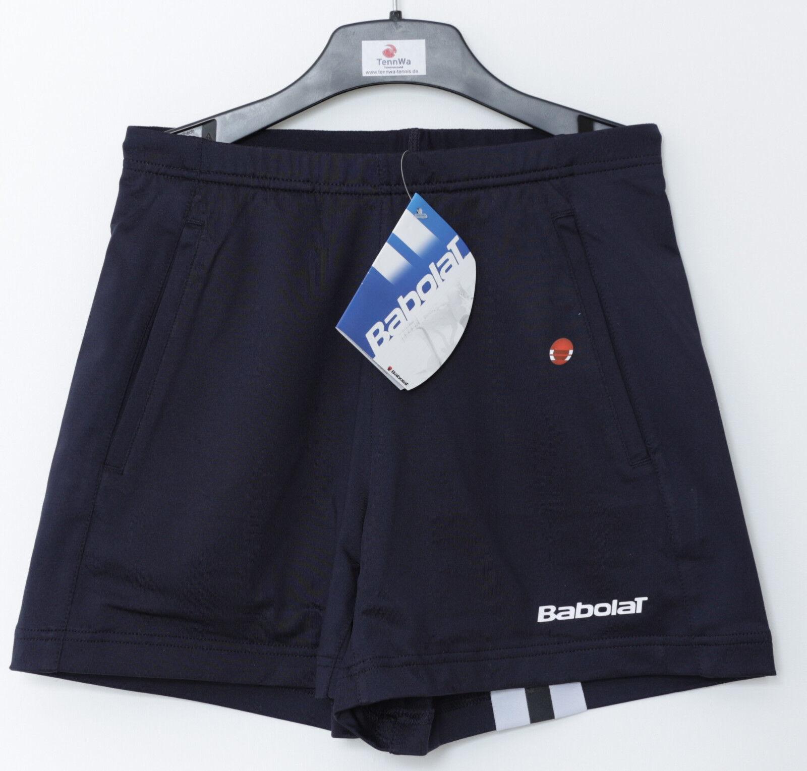 MEGASALE: Babolat Damen Club Short dunkelblau, statt 34,95€*, kurze Hose Tennis