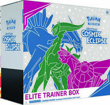 SM COSMIC ECLIPSE ELITE TRAINER BOX Pokemon TCG: Sun & Moon