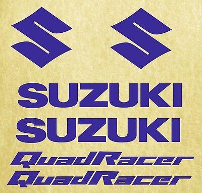 Suzuki quadracer-bike stickers-sponsor decals-motosport-blue SK-181