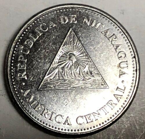 # C2047    NICARAGUA   COIN,   50  centavos   2014