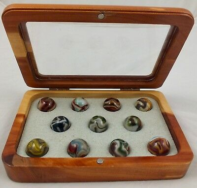 (2009 Jabo A Tribute To Friendship Marble Collection In Wooden Box)