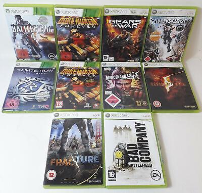 Spiele Sammlung | Xbox 360 | 10 Spiele Ü18 Battlefield 4 Resident Evil 5