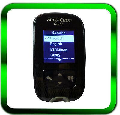 ACCU-CHEK Guide Blutzuckermessgerät mg/dL NEU *Händler*