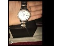 Rose Gold and Silver Michael Kors Watch