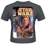 Star Wars - Comic T-shirt Homme / Man - Taille / Size L Plastic Head