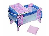 Baby Born 2 in 1 Foldable Cot