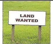 Wanted: LAND WANTED ASAP