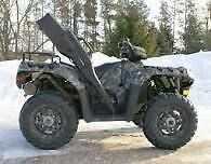 Polaris 550 sportsman ex. cond. sell/trade for tractor etc. or?