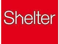 Stand against social injustice this Summer - street fundraising with Shelter £8.50-£12/hr