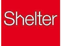 Stand against social injustice this Summer - street fundraising with Shelter £9.50-£12/hr